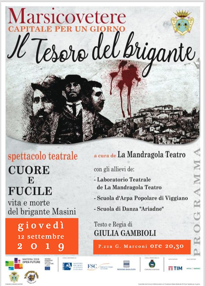 CUORE E FUCILE spettacolo teatrale
